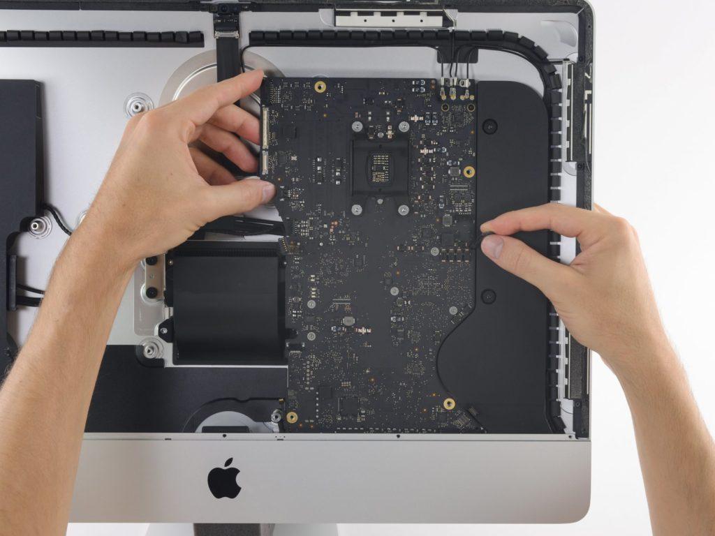 iMac moederbord reparatie